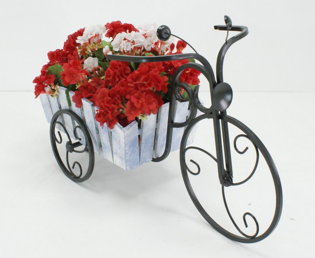 Подставка велосипед для цветов купить