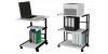Приставные столики и этажерки на колесиках