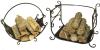 Дровницы - каминные аксессуары