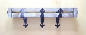 Декоративный кронштейн уголок для балконного ящика 005/UGOL4/1441