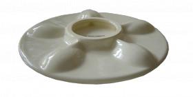 "Фарфоровая пасхальная тарелка 240мм ""Пасха декор 1"""