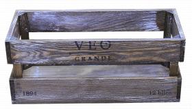 Ящик деревянный декоративный средний, категория F, 004/DYK6C/1600