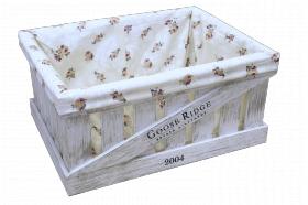 Ящик деревянный декоративный большой с чехлом, категория D, 004/DYK4B/1391