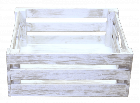 Ящик деревянный декоративный большой, категория H, 004/DYK8B/1604
