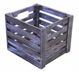 Ящик деревянный декоративный средний, категория G, 004/DYK7C/1603
