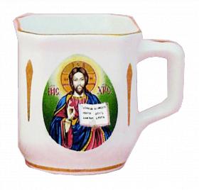 """Церковный фарфоровый набор из 3-х предметов """"Сын Божий"""""""