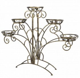 "Подставка для цветов на 5 вазонов ""Веер"" 001/ПАВ5/58"