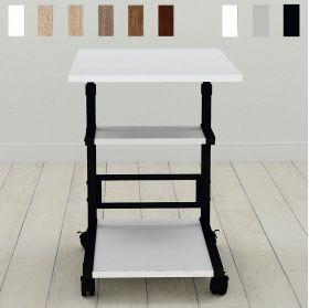 Приставной столик на колесиках Алан-3, фото декор