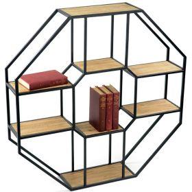 "Полка в стиле Loft, Modern, Industrial подвесная, настенная ""Окта-8"". фото 324"