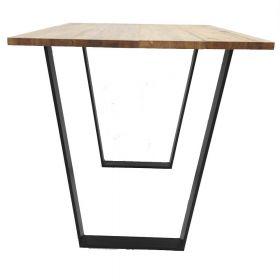 каркас для стола, подстолье в стиле лофт №2, ковкавдом, фото 542