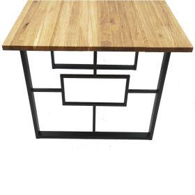 каркас для стола, подстолье в стиле лофт №3, ковкавдом, фото 552