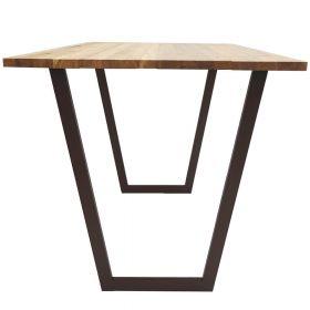 каркас для стола, подстолье в стиле лофт №4, ковкавдом, фото 561