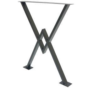 каркас для стола, подстолье в стиле лофт №6, ковкавдом, фото 583
