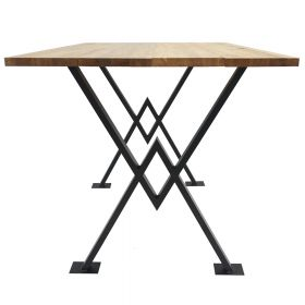 каркас для стола, подстолье в стиле лофт №6, ковкавдом, фото 582