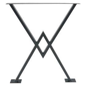 каркас для стола, подстолье в стиле лофт №6, ковкавдом, фото 581