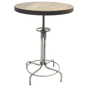 Барный стол Лофтлаб - 2, круглый, винтовой. мебель в стиле Лофт. фото 302