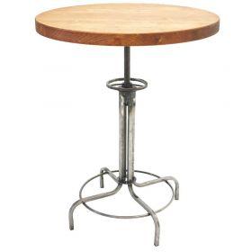 Барный стол Лофтлаб - 2, круглый, винтовой. мебель в стиле Лофт. фото 303