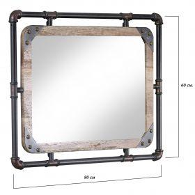 настенное зеркало Лофт Индастриал-1, ковкавдом, фото 634