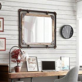настенное зеркало Лофт Индастриал-1, ковкавдом, фото 637