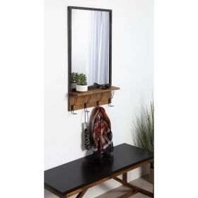 настенное зеркало с полочкой Минимал-60, ковкавдом, фото 654