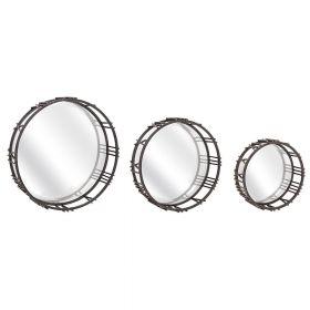 набор из 3-х настенных зеркал Рим-3, ковка в дом, фото 661
