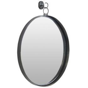 настенное зеркало в стиле лофт, круглое Гонг-60, ковкавдом, фото 732