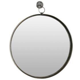 настенное зеркало в стиле лофт, круглое Гонг-60, ковкавдом, фото 731