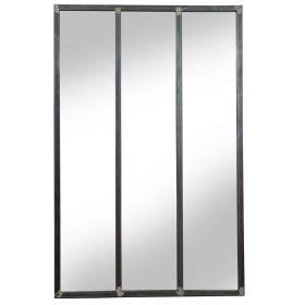 настенное зеркало стиль Лофт Индастриал Лонг-90,ковка в дом, фото 751