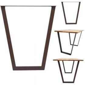 каркас для стола, подстолье в стиле лофт №4, ковкавдом, фото 560