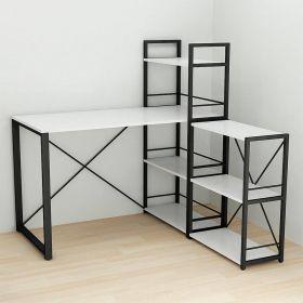 писменный офисный стол угловой Коннект-6, фото