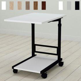 Приставной стол Фрэнк-2. Цвет металла - черный. Цвет ДСП Белое, фото