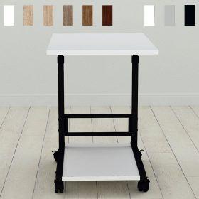 Приставной столик на колесиках Фрэнк-2, фото декор