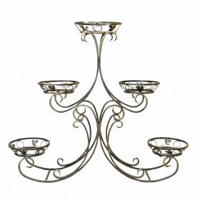 "Подставка для цветов на 5 вазонов ""Равновесие"" 001/ПИР-5/1245"