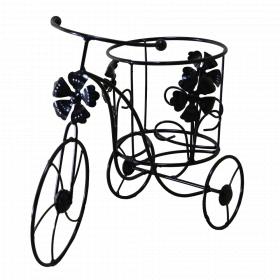 Подставка для цветов на один вазон Кармен, велосипед 001/V1MV/1311