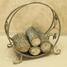 Дровница кованая круглая малая 003/DROV3S/1520