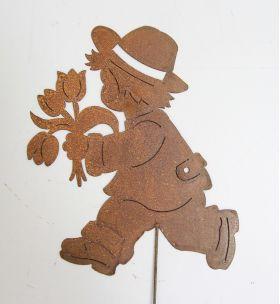 """Садовый декор """"Мальчик с букетом"""" 002/DS-128/568"""
