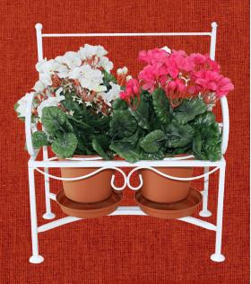 Подставка для цветов Кармен, диванчик 2, 001/PC04/1244