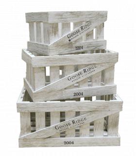 Ящик деревянный декоративный, набор из 3 шт. категория B, 004/DYK2/1388
