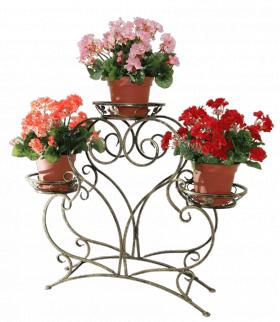 """Подставка для цветов на 3 вазона """"Золушка"""" 001/CPB3/1607"""