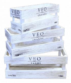 Деревянный ящик органайзер, прямоугольник большой, категория E, 004/DYK5B/1591
