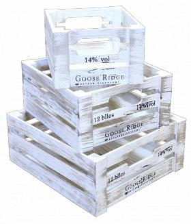 Деревянный ящик органайзер, прямоугольник большой, категория H, 004/DYK8B/1604