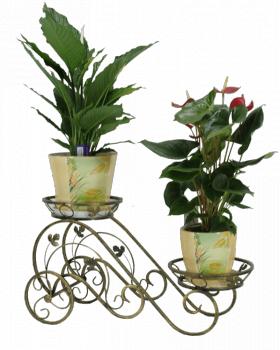 "Подставка для цветов на 2 вазона ""Водопад"" 001/ГТ2/73"