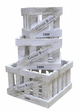 Ящик деревянный декоративный, категория A, набор из 3 шт. 004/DYK1/1380