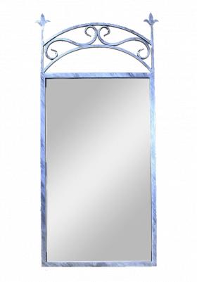 Зеркало настенное в кованой раме