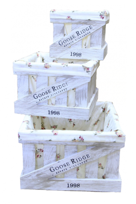 Ящик деревянный декоративный средний с чехлом, категория C, 004/DYK3C/1382