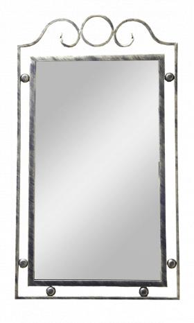 Зеркало настенное в ковано раме
