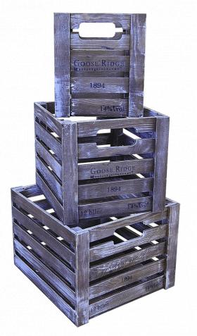 Деревянный ящик органайзер, прямоугольник средний, категория G, 004/DYK7C/1603