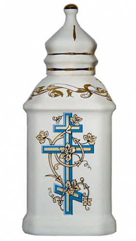 """Фарфоровый сосуд для освященной воды """"Сын Божий"""""""