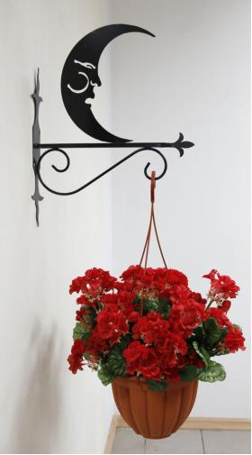 """Декоративный кронштейн для подвесных цветов """"Рыбка"""" 001/КPР/1583"""