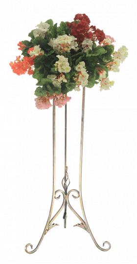 Подставка для цветов на один вазон, консоль макси 001/КР1/584